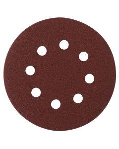 Dynabrade 8 in. PSA 40-Grit Vac Sanding Discs 25/Pk