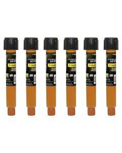 0.5 oz R-134a/PAG EZ-Ject A/C dye 6 Pack