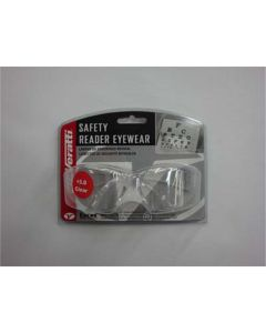 Safety Glasses - Veratti 2000 Readers Clear Lens, Enfog Diopter +3.0