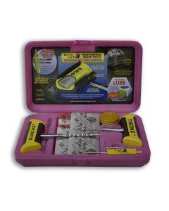Pink Tire Repair Kit