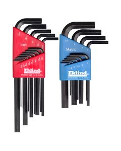 22 Piece Combination Short and Long Hex-L Hex Key Sets