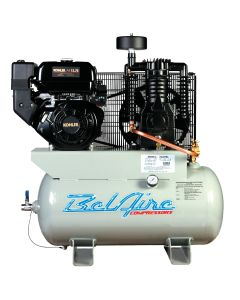 Two Stage Engine-Powered Gas Air Compressor, 12HP