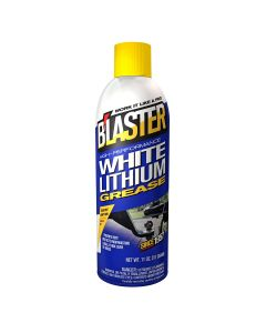 White Lithium Grease, Low Friction, 11 oz. Can.