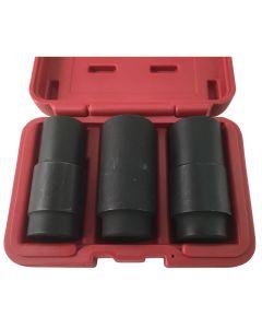 3 Piece Crank Bolt Socket Set
