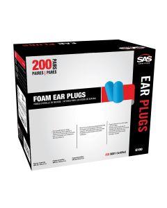 Foam Ear Plugs Dispenser Box (200 Pair)