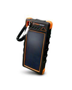 Solar Power Bank 16000mAh with Flashlight
