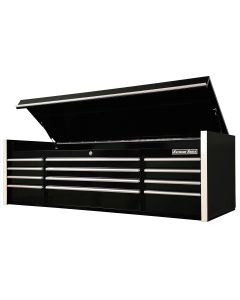 "Extreme Tools 72"" 12-Drawer Top Chest, Black"