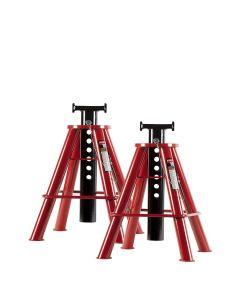 10 Ton Medium Height Pin Type Jack Stands (Pair)