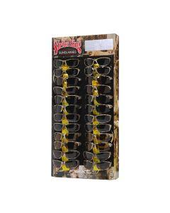 24 Piece Camo Sunglass Display