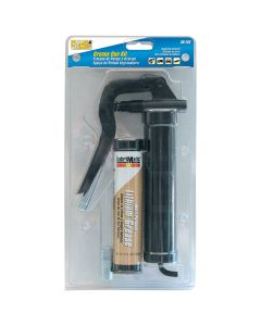 """Pistol Style Grease Gun Kit with 3-1/2"""" Ext and 3 oz Cart"""