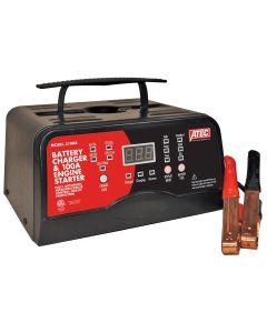 ATEC Battery Charger & 100 AMP Engine Starter, 12V 15/2 AMP Portable Charger