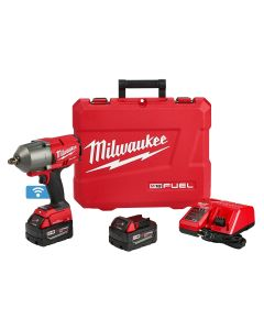M18 FUEL One-Key 1/2 in. High Torque Impact Wrench w/ (2) Batteries Kit