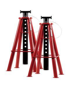 Sunex Tools 10 Ton High Height Pin Type Jack Stands (Pair)