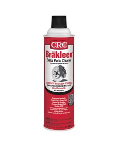 Brakleen Brake Parts Cleaner, 19 oz Can, 12 per Pack