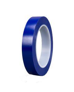 "Scotch Plastic Tape 471, Blue, 1/2"" x 36 yds."