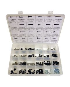 Trim Screw Assortment - Master Universal - 185 Piece