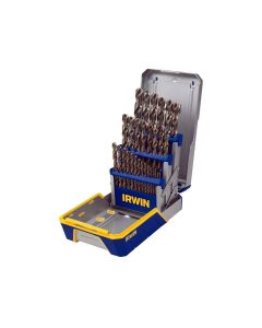Hansen 29-Piece Cobalt M-35 Metal Index Reduced Shank Drill Bit Set