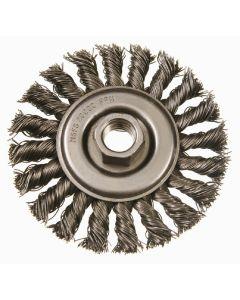 """6"""" Standard Twist Wire Wheel, .023, 5/8"""", 11 AH"""