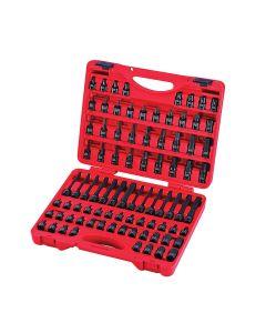Sunex Tools 84-Piece 3/8 in. Drive Master Hex Bit Impact Socket Set