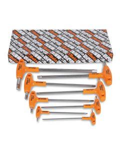 96TINOX/S8-SET 8 OFFSET HEXAGON KEY Wrench