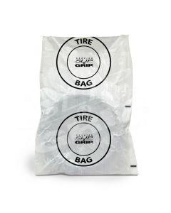 Petoskey Plastics XL Tire Bags, White (125 Bags)