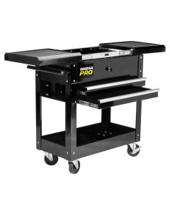 Omega Pro 2-Drawer Tool Cart w/ Sliding Top