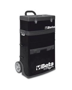 Two-Module Tool Trolley, Black