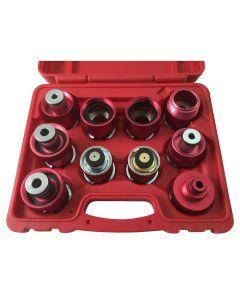 10 Pc. Radiator Pressure Tester Adapter Kit - US/Asian