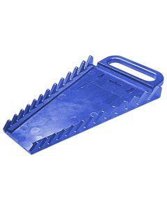 12-Piece Blue Wrench Holder
