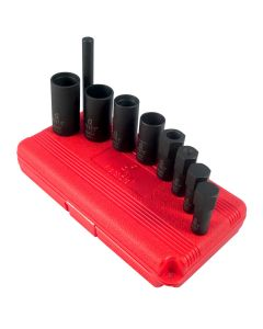 "Wheel Lock 1/2"" Drive Removal Kit, Tuner Lug Key Kit (9 pc)"