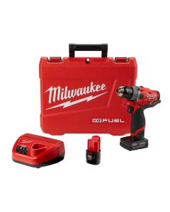 M12 FUEL Lightweight 1/2 in. Drill Driver w/ (2) Batteries Kit
