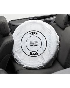 Petoskey Plastics 100/Roll Standard Tire Bags, White