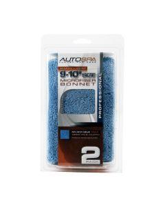 2-Pack 9-10 in. Microfiber Polishing Bonnet