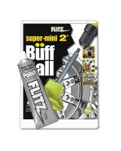 2 Inch Super Mini Buff Ball with Free Flitz Polish