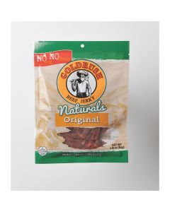 GOLDRUSH Goldrush All Natural Mild 2.85 oz. Beef Jerky, MSG FREE