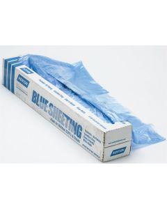 20' X 350' Paintable Blue Plastic Sheeting