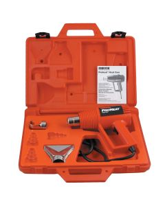 Proheat Heat Gun with 2 Attachments and Case