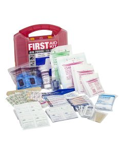25 Person First Aid Kit (Plastic Case)