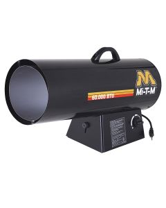 Portable Heaters Propane Forced Air, 60,000 BTUs