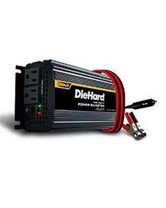 Power Inverter, DieHard, 850 Peak Watts, 425 Continuous Watts, 2 AC Outlets, HD Battery Clamps