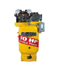 Compressor 10 HP 2 Stage 1 Ph Vert 120 Gal