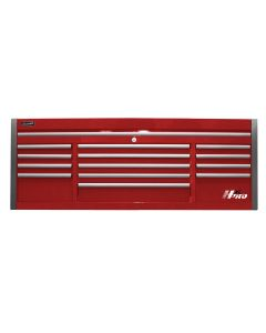 Homak Mfg. 72 in. HXL 13-Drawer Top Chest, Red