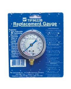 Low Side R12 and R22 Auto Glycerine Refrigerant Gauge