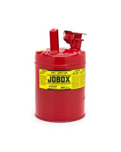 Jobox Type 1 Safety Can, 2 Gallon, Red