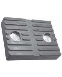 """Ammco Molded Rubber Lift Pad (3 3/4"""" x 5 3/4"""" x 7/8"""")"""