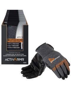 12PK Light Duty Labor Glove Asst Display