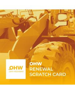 Renewal. License of use OHW (scratch card)