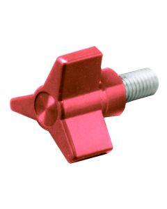 3 Arm Red Knob