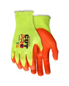 MCR Safety Cut Pro 10 Gauge HyperMax, Shell Cut and Puncture Resistant Work Gloves Nitrile Foam Coated Palm and Fingertips