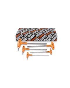 96TINOX/S5-SET 5 OFFSET HEXAGON KEY Wrench
